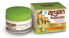 Регенерирующий крем для лица с фруктовыми кислотами ARGAN TREASURES от Parmaid