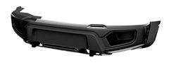 Бампер АВС-Дизайн передний UAZ Патриот/Пикап/Карго 2005- лифт Легкий-У (без оптики)(черный)