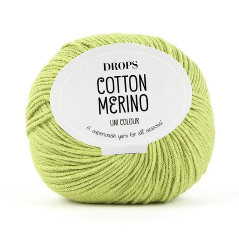 Пряжа Drops Cotton Merino 10 фисташка