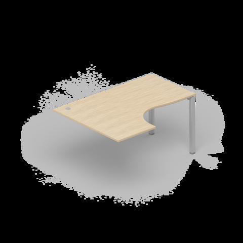Стол приставной асимметричный
