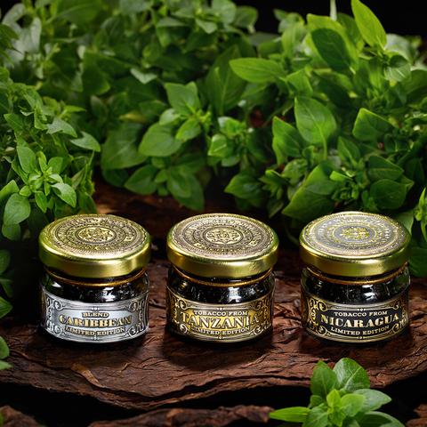 Табак WTO Caribbean Blend Green Basil (ВТО Карибский Бленд Базилик) 20 г