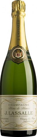Шампанское J. Lassalle, Blanc de Blancs, Premier Cru Chigny-Les-Roses, 0.75 л