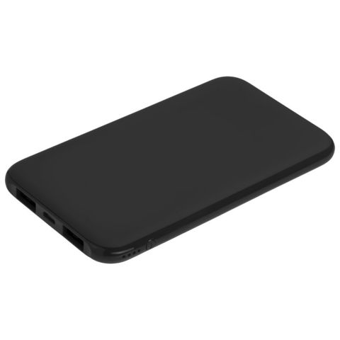 Uniscend Half Day Compact Power Bank 5000 mAh, black