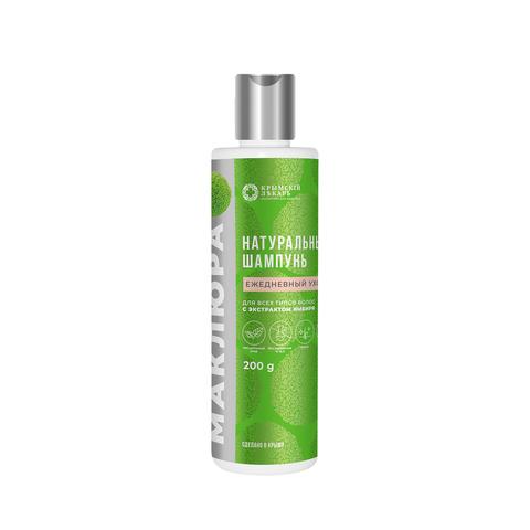 МДП Натуральный шампунь Ежедневный уход для всех типов волос, 200г