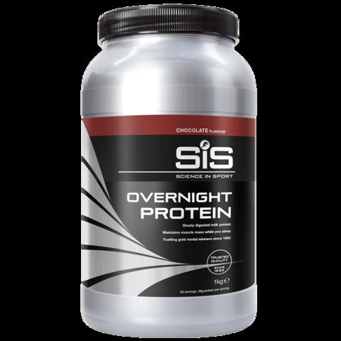 SiS Overnight Protein ночной протеин в порошке, вкус Шоколад 1 кг.