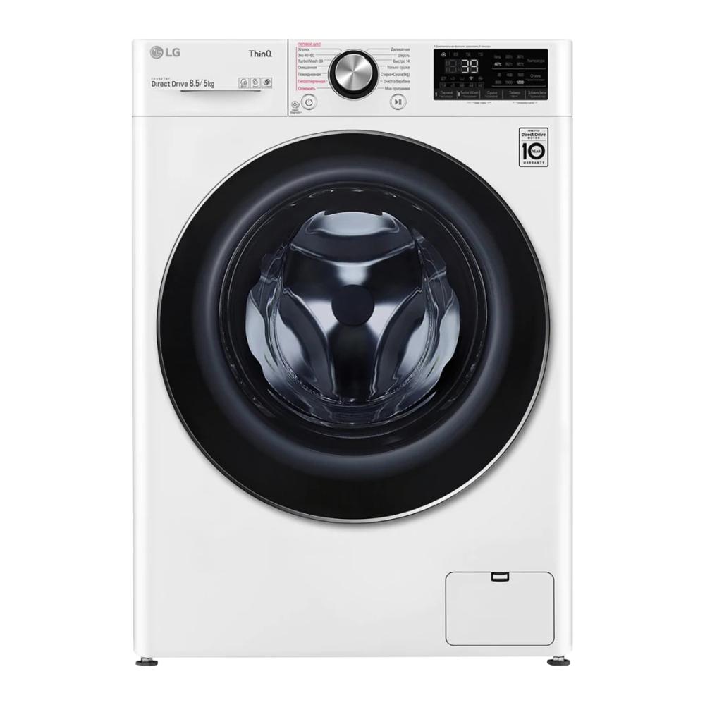 Фото - Стиральная машина LG F2V9GC9W стиральная машина lg f4v5tg0w
