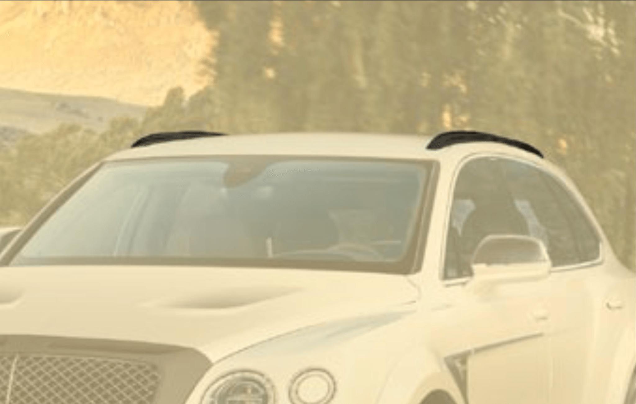 Карбоновые маски рейлингов для Bentley Bentayga Копия