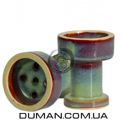Чаша Gusto Bowls Rook Glaze II (Густо Болс Рук) Бирюзовый с красным