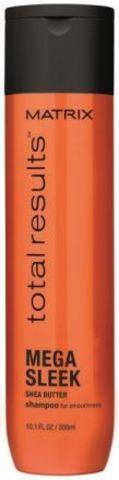 Шампунь с маслом Ши для гладкости волос, Matrix Mega Sleek,300 мл.
