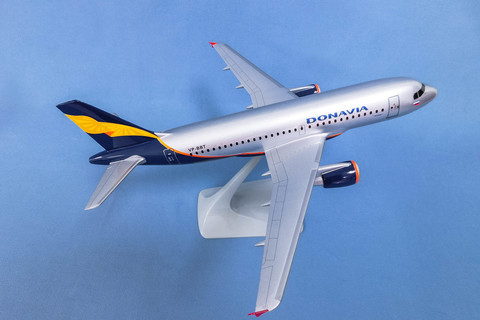 Модель самолета Airbus 319 (М1:100, Дон Авиа)