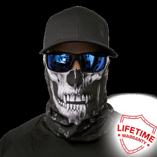 SA Company Бандана-труба с черепом SA Steel Tech Black Skull Steel_Tech_Black_Skull.png