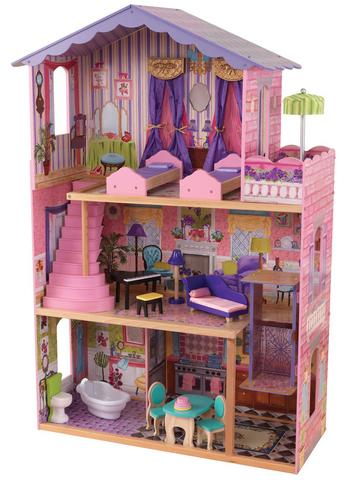 KidKraft Особняк мечты - кукольный домик с мебелью для Барби 65082_KE