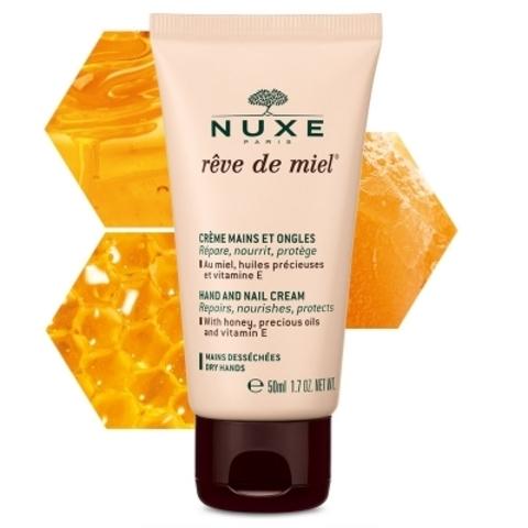 Nuxe Крем для рук и ногтей Рэв де Мьель