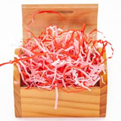 Наполнитель бумажный, Розовый микс, 50 гр