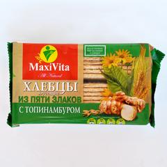 Хлебцы 5 злаков с топинамбуром MaxiVita 150 гр
