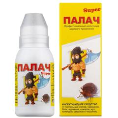 Палач «Super» средство от клопов, тараканов, муравьев, блох, 100мл