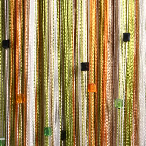 Радуга с кубиками Белая, фисташка, беж, оранж. Ш-300см., В-280см. Арт.106