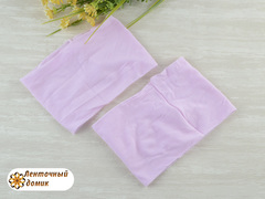 Повязки нейлоновые широкие 10 см светло-розовые