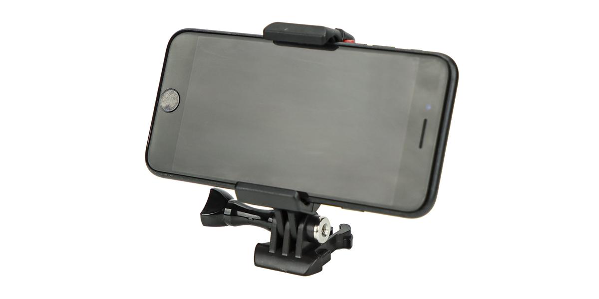 Крепление для телефона SP Phone Mount со смартфоном вид спереди