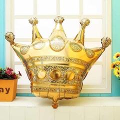 К Фигура Корона, Золото 34''/86 см, 1 шт.
