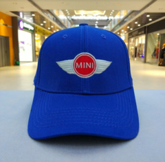 Кепка синяя Мини Купер (Бейсболка MINI Cooper)