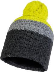 Шапка вязаная с флисом Buff Hat Knitted Polar Jav Grey