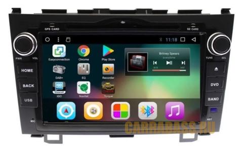 Магнитола  Honda CR-V 2007 - 2012 GF-8001A Android 8.1