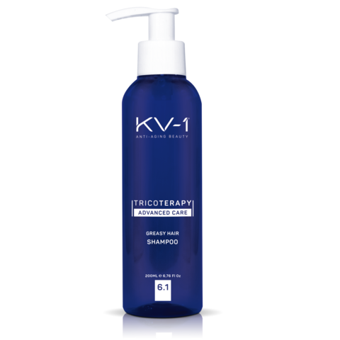 KV-1 Шампунь для жирной кожи головы Tricoterapy Greasy Hair Shampoo 6.1