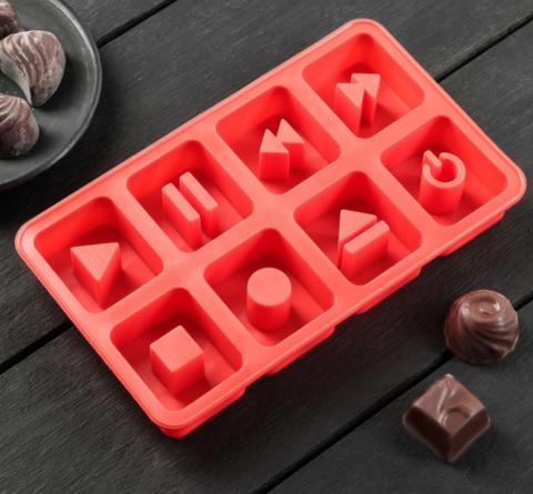 Силиконовая Форма для льда и шоколада