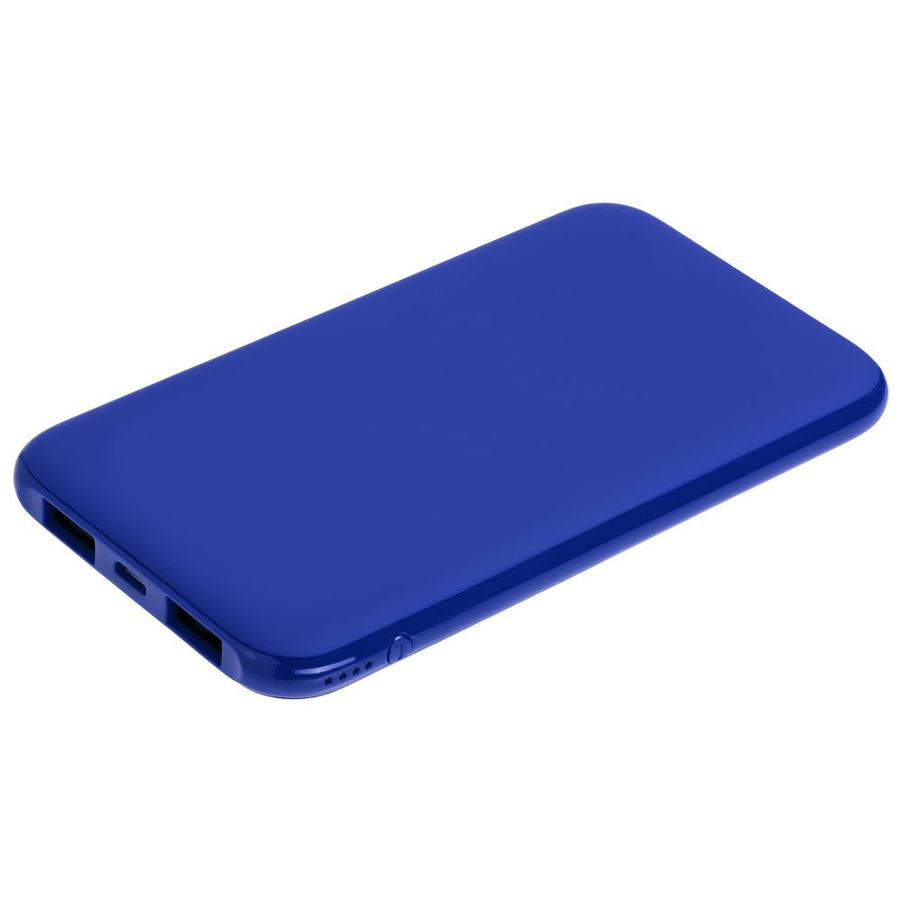 Uniscend Half Day Compact Power Bank 5000 mAh, blue