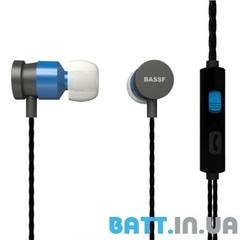Гарнитура вакуумная BASSF CX-300U white-blue