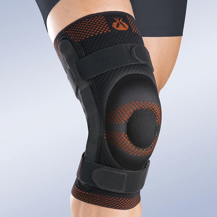 С нерегулируемыми шарнирами Бандаж коленный Orliman c закрытой коленной чашечкой с силиконовой подушечкой и полицентрическим шарниром 9ecf4c096f63e0bc018a186ba2657b3a.jpg