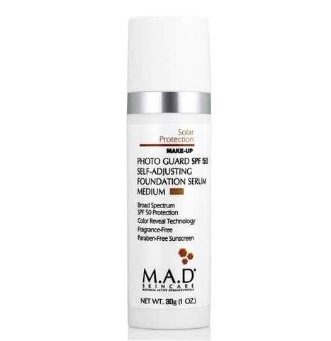 Крем-праймер матирующий  с защитой SPF 50 Medium M.A.D Skincare Solar Protection Photo Guard SPF 50 Matte Finish Primer, 30 гр