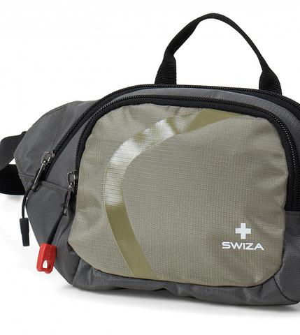 Сумка поясная SWIZA Quadril, зеленая