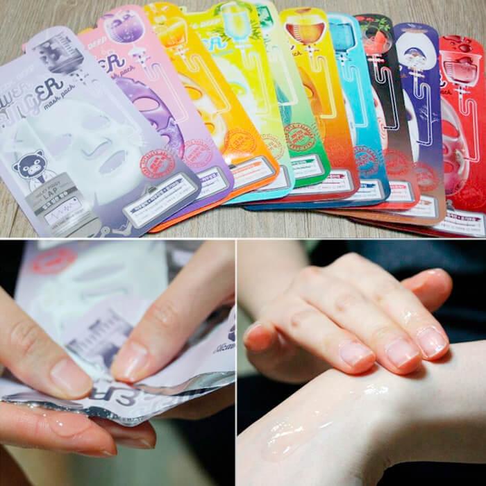Elizavecca Collagen Deep Power Ringer Mask Pack маска для лица