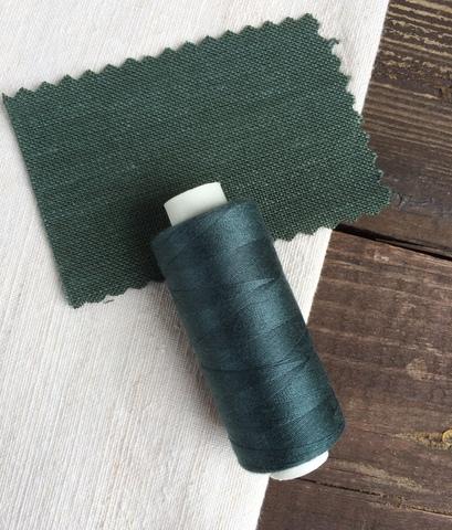 Нитки Dor Tak 722, темно серо-зеленый