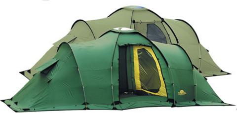 Картинка палатка кемпинговая Alexika Maxima 6 Luxe