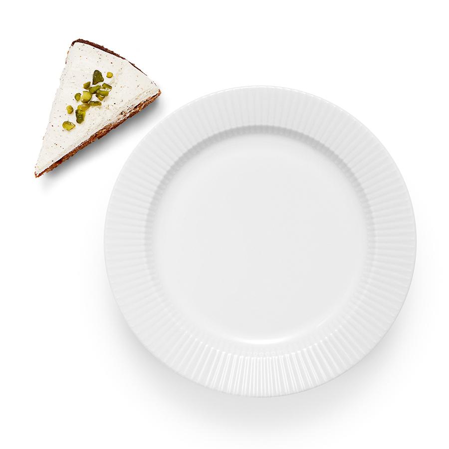 Тарелка фарфоровая обеденная Legio Nova 22 см белая Eva Solo 887222   Купить в Москве, СПб и с доставкой по всей России   Интернет магазин www.Kitchen-Devices.ru