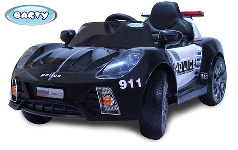 Электромобиль  BARTY Porsche 911 Police Б005OС