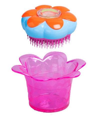 Расческа для волос со шкатулкой Tangle Teezer Magic Flowerpot Popping Purple