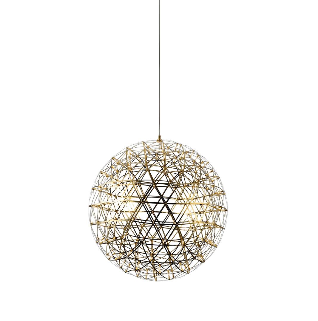 Подвесной светильник копия Raimond by Moooi (золотой, D 43 cm)