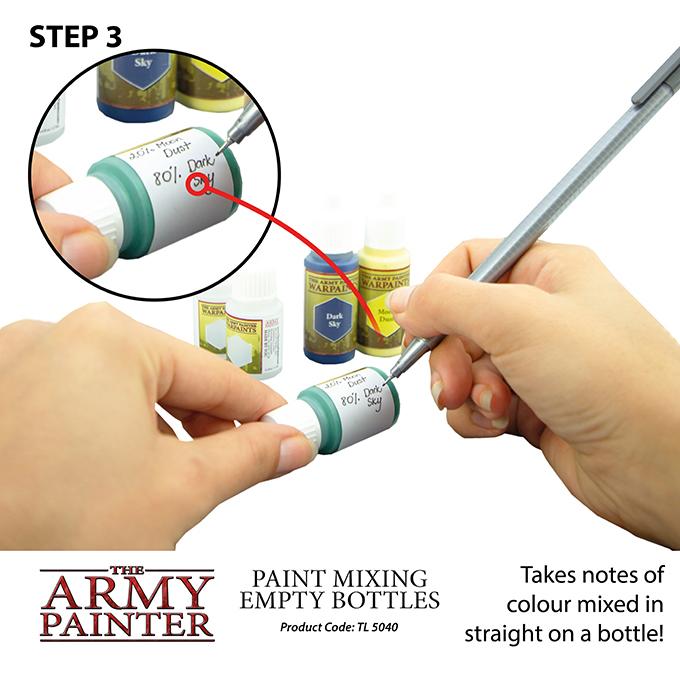 Paint Mixing Empty Bottles (2019)