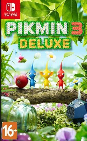 Pikmin 3 Deluxe (Nintendo Switch, английская версия)