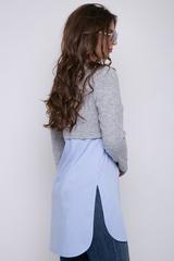 <p><span>Комфортная туника в очень модном оформлении. Отличное решение для прохладных летних вечеров.</span></p>