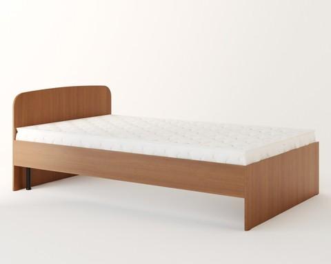 Кровать КР-02 бук тёмный