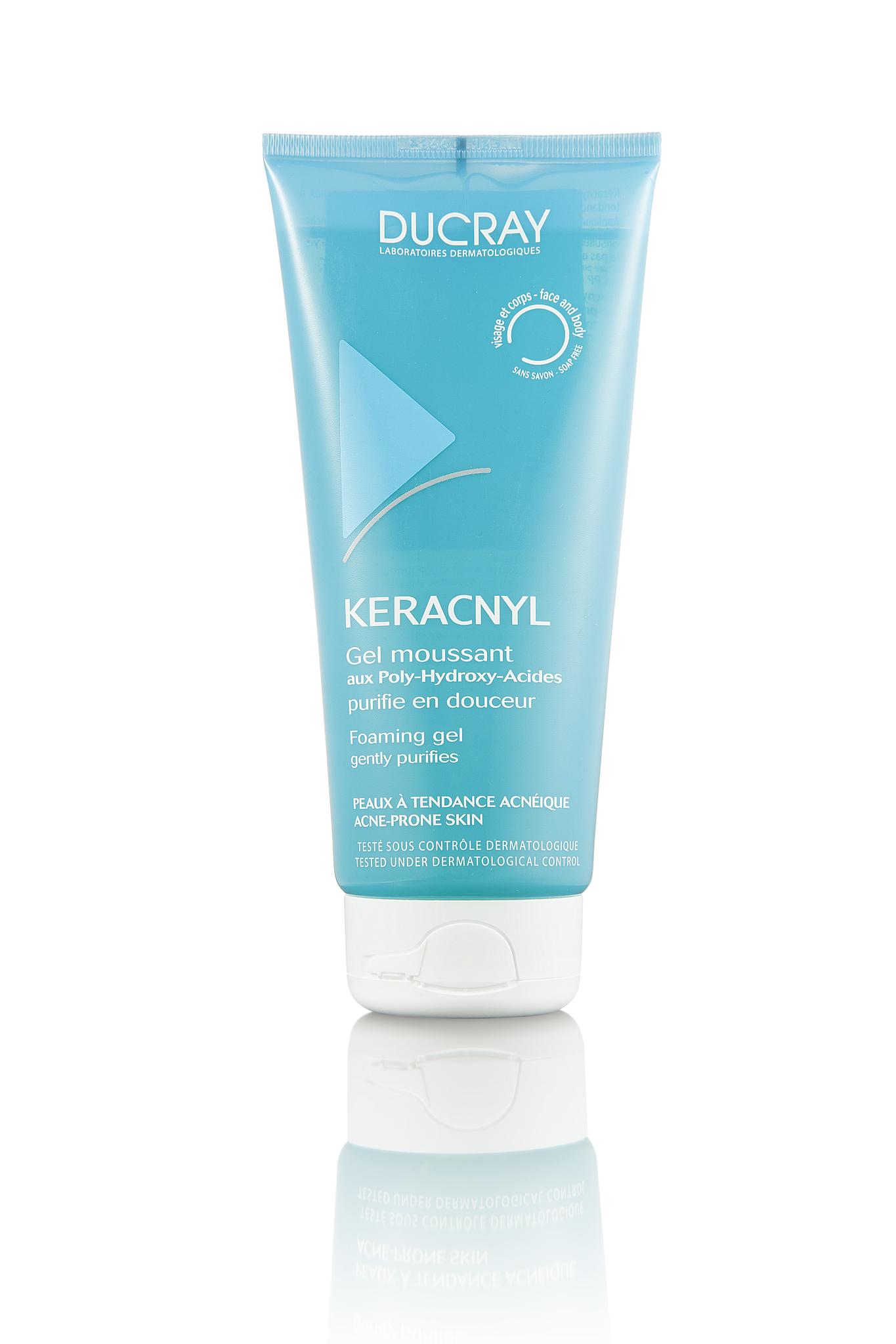 Ducray Keracnyl гель для проблемной кожи 200 мл.