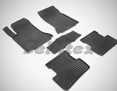 """Резиновые коврики """"Сетка"""" для GLA-Class X156 (с 2014)"""