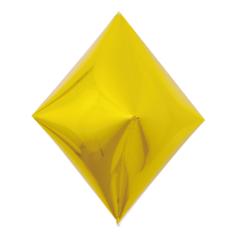 К 3D (21''/53 см) Ромб, Золото, 1 шт.