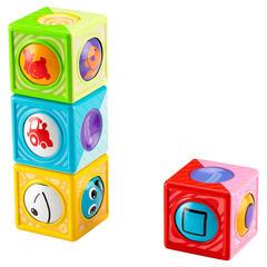 Fisher Price Волшебные катящиеся кубики (цвета в ассортименте) (CBL33)