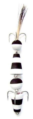 Джиговая приманка Мандула цвет №2 с крючком Owner и опушкой из шерсти барсука